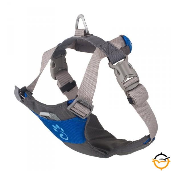 Dog Harness; blue; XL