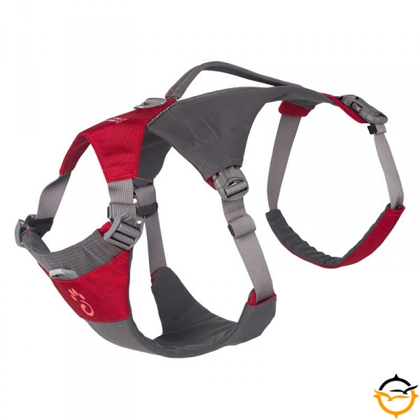 Dog Hiking Harness; red; XL