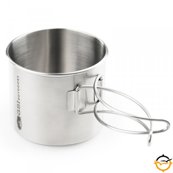 Glacier Stainless Bottle Cup/Pot; 591ml (1)