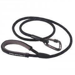 Mountain Paws Rope Dog Lead black délka 130cm