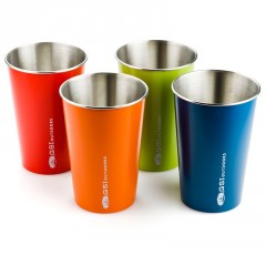 GSI Outdoors Glacier Stainless Pint Set 500ml; multi color